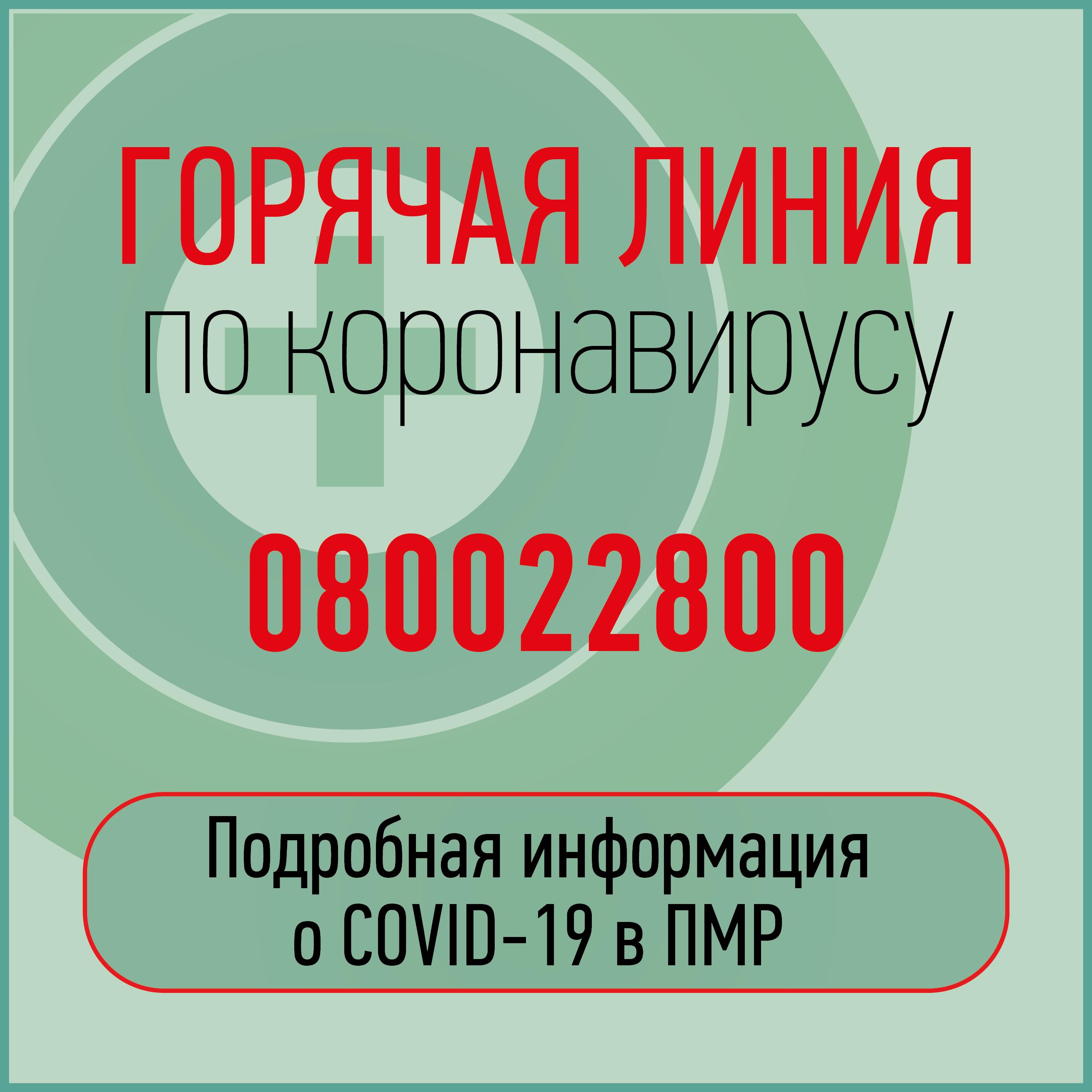 Коронавирус COVID-19 ПМР