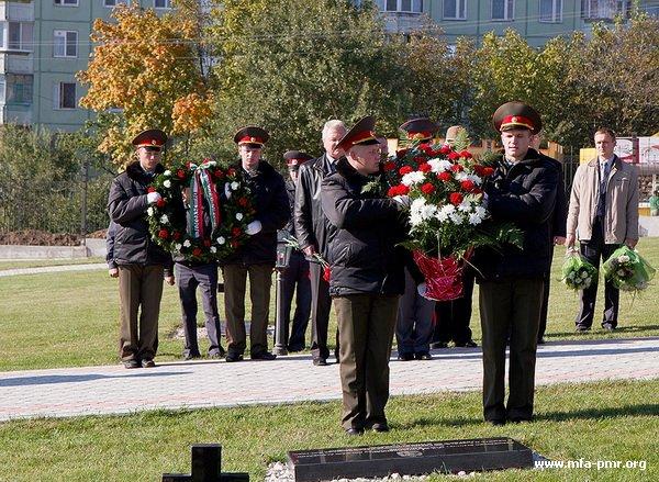 Торжественная церемония открытия мемориальных знаков  в память о венгерских военнопленных и гражданских лицах – жертвах  Второй Мировой войны