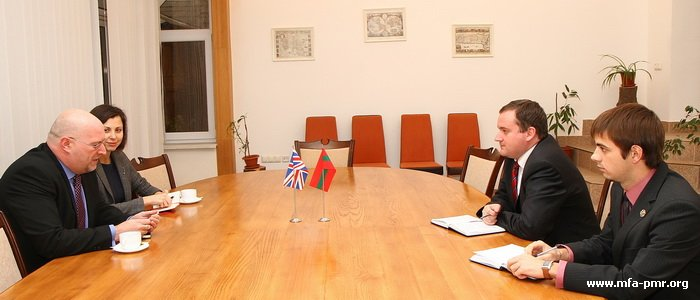 On the Meeting with the Delegation of the British Embassy in the RM