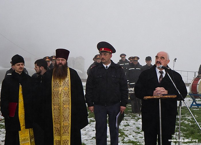 Solemn Ceremony of Unveiling Bust to the Ukrainian Writer and Playwright, Officer of the Russian Army Ivan Petrovich Kotlyarevsky