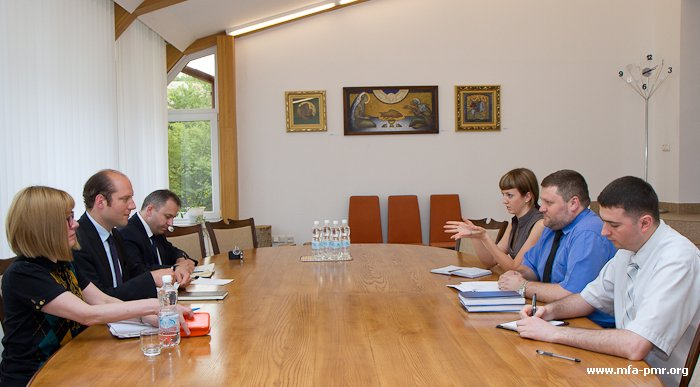 О встрече руководства Министерства иностранных дел ПМР  с пресс-секретарём Мюнхенской конференции по политике безопасности