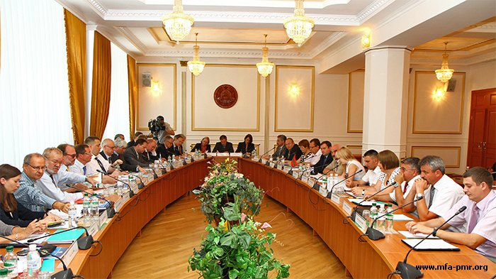 The Delegation of the Heads of Permanent Missions to the OSCE Attended Pridnestrovie