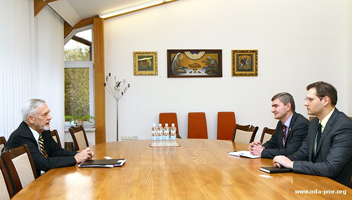 On the Meeting of the Leadership of the PMR's MFA with Former Head of OSCE Mission to Moldova William Hill