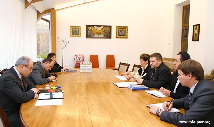 Meeting with Delegation of Chornobyl-Dopomoga Association Takes Place in PMR'S MFA