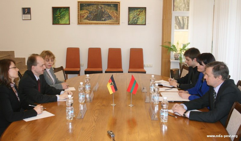 On the Meeting of the Head of the PMR's MFA with Foreign Policy Advisor to the German Bundestag