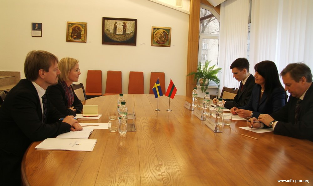 Nina Shtanski Held a Working Meeting with the Ambassador of the Kingdom of Sweden in the Republic of Moldova