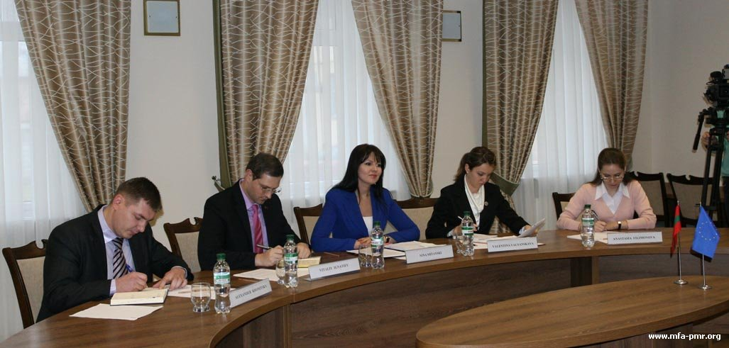 Senior Officials of the Foreign Service Hosted Delegation of the Council of Europe