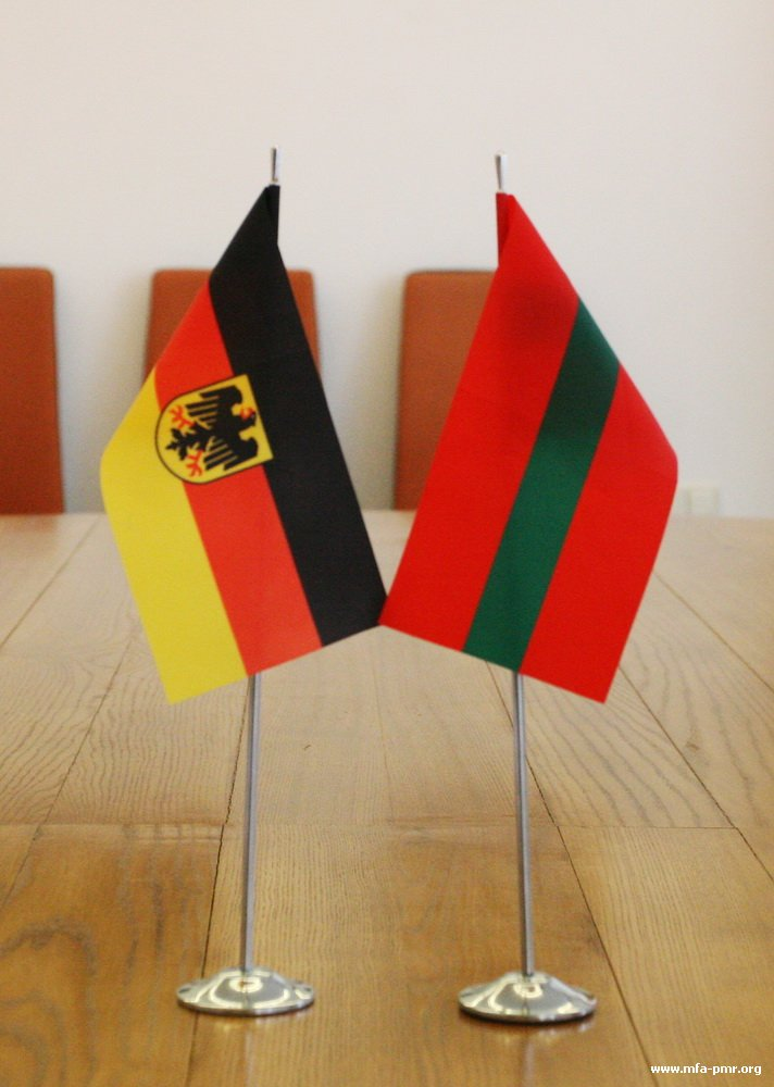 The Head of the PMR's MFA Held a Meeting with Ambassador Extraordinary and Plenipotentiary of Germany to the Republic of Moldova