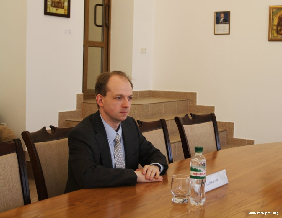 On the Meeting of the Pridnestrovian Foreign Minister with the Representative of the Bundestag