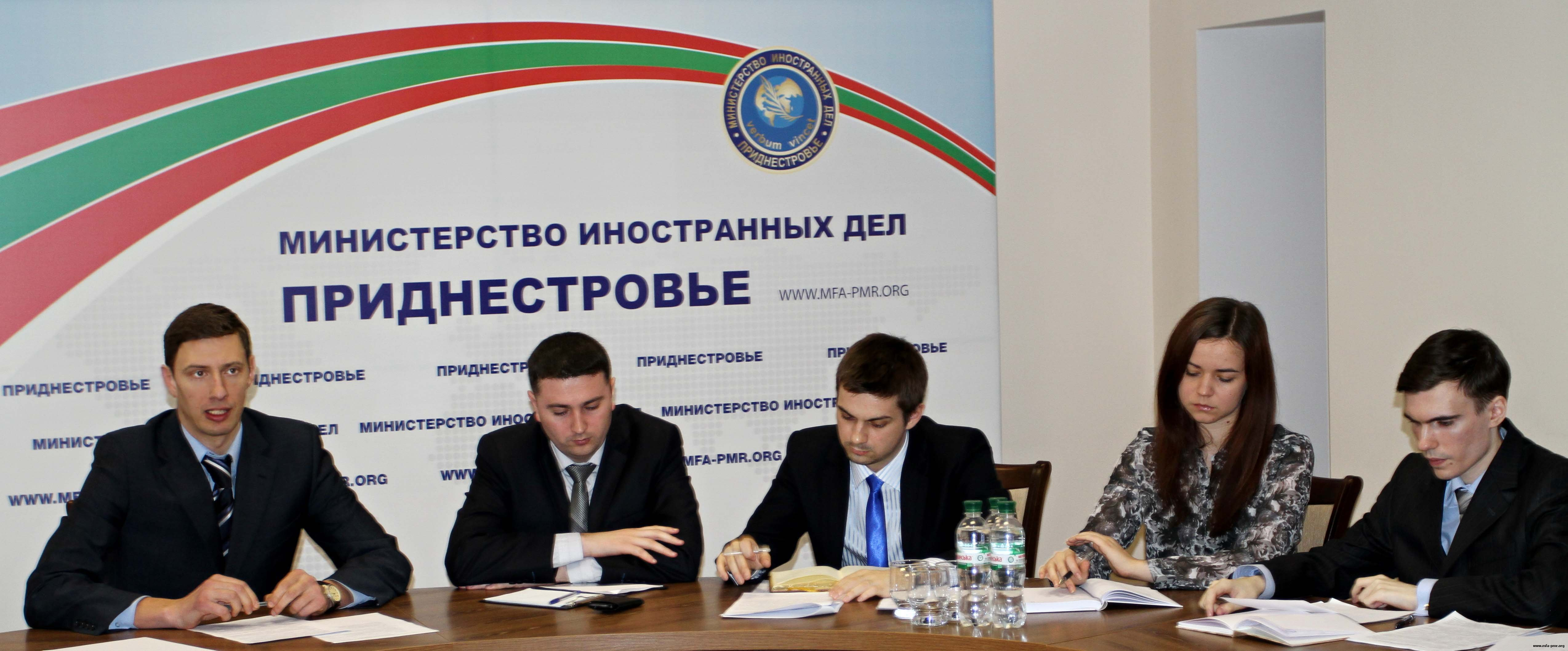 """Public-Expert Council under the MFA of the PMR Discussed Economic Aspects of the """"Eurasian Region Pridnestrovie"""" Project"""