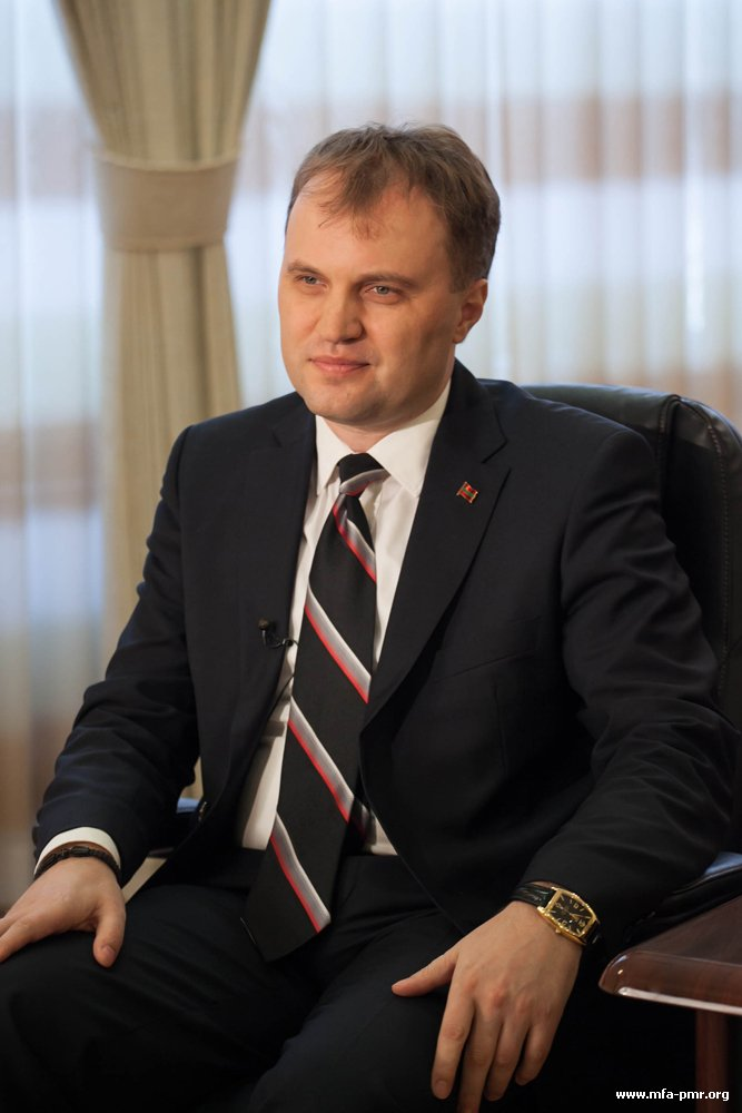 RBK-TV Broadcasts the Interview with the President of Pridnestrovie by Today