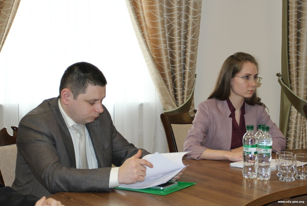 Interdepartmental Coordination Meeting Took Place in the PMR's MFA, Devoted to the Report on Human Rights in Pridnestrovie, Prepared by Thomas Hammarberg