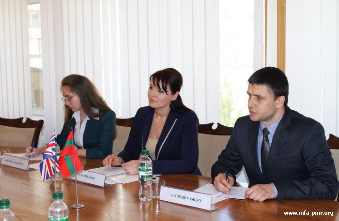 Nina Shtanski Hosted Her Majesty's Ambassador to the Republic of Moldova H.E. Keith Shannon