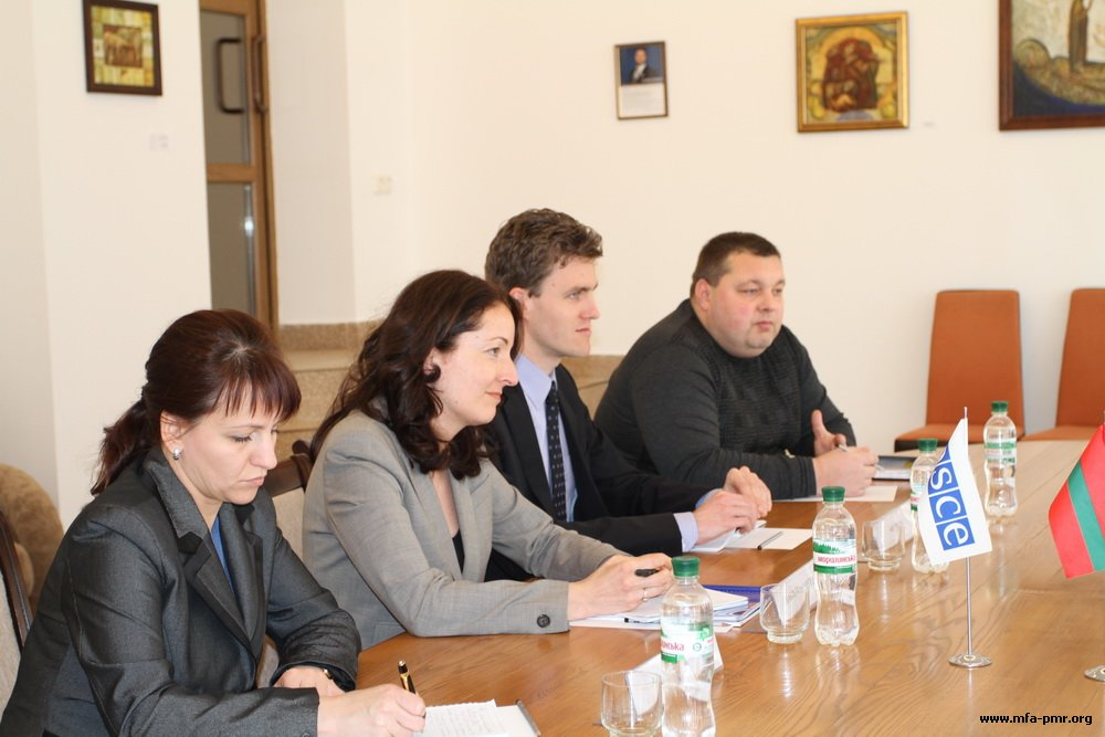 Leadership of the Pridnestrovian MFA Discussed Topical Issues in the Field of Education with the OSCE Experts