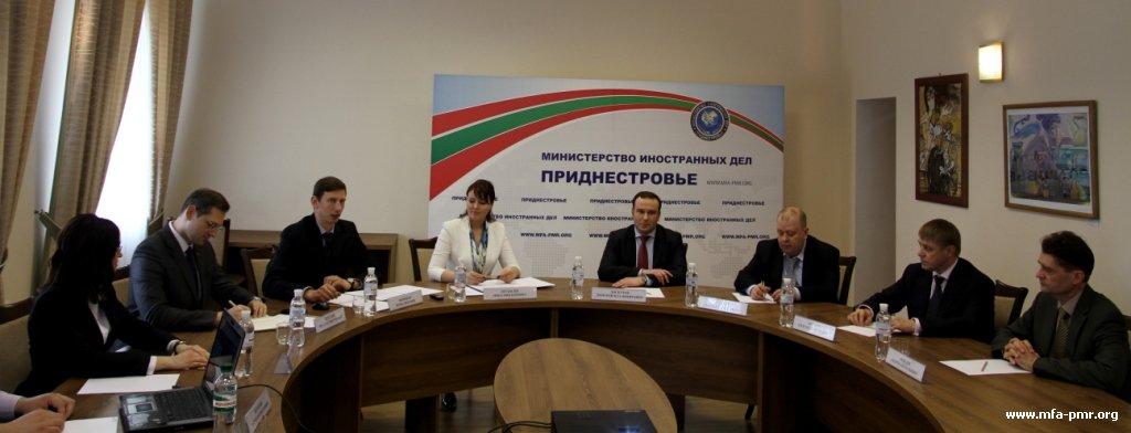 "Opening of ""Eurasian Pridnestrovie"" Media Centre"