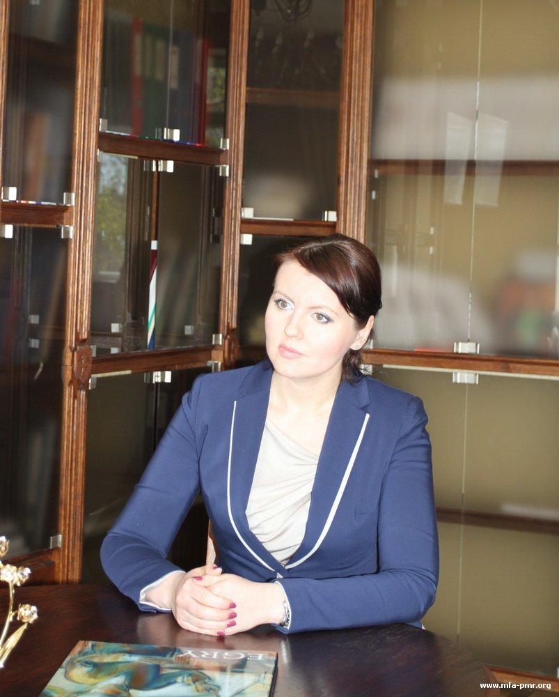 Нина Штански дала интервью российскому телеканалу «День»