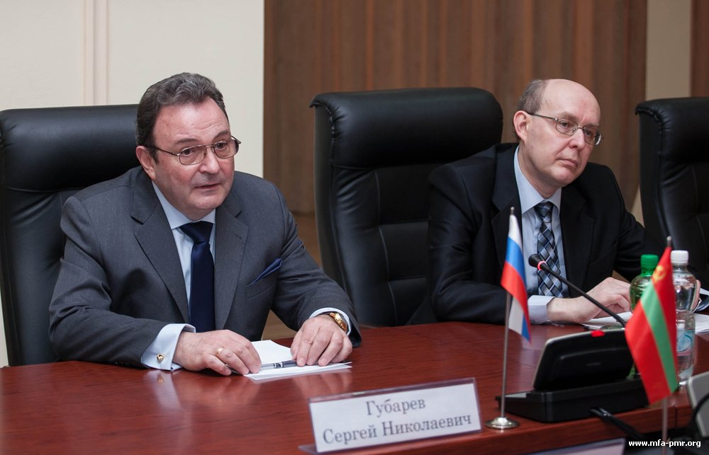 On the Meeting of the President of the PMR with the Ambassador-at-Large of the Ministry of Foreign Affairs of the Russian Federation
