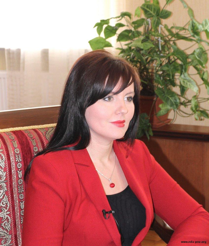 Нина Штански ответила на вопросы Агентства «Военинформ»