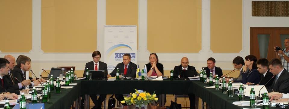 О первом дне очередного заседания «Постоянного совещания по политическим вопросам в рамках переговорного процесса по приднестровскому урегулированию» в г. Одесса