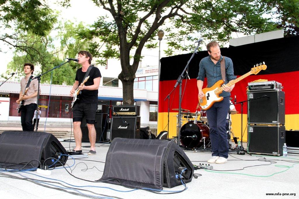 В Тирасполе состоялся концерт группы «Fotos»