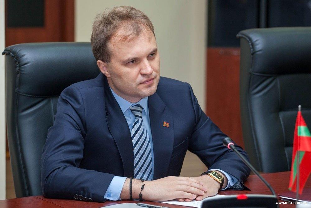 Президент Приднестровья принял делегацию из ФРГ
