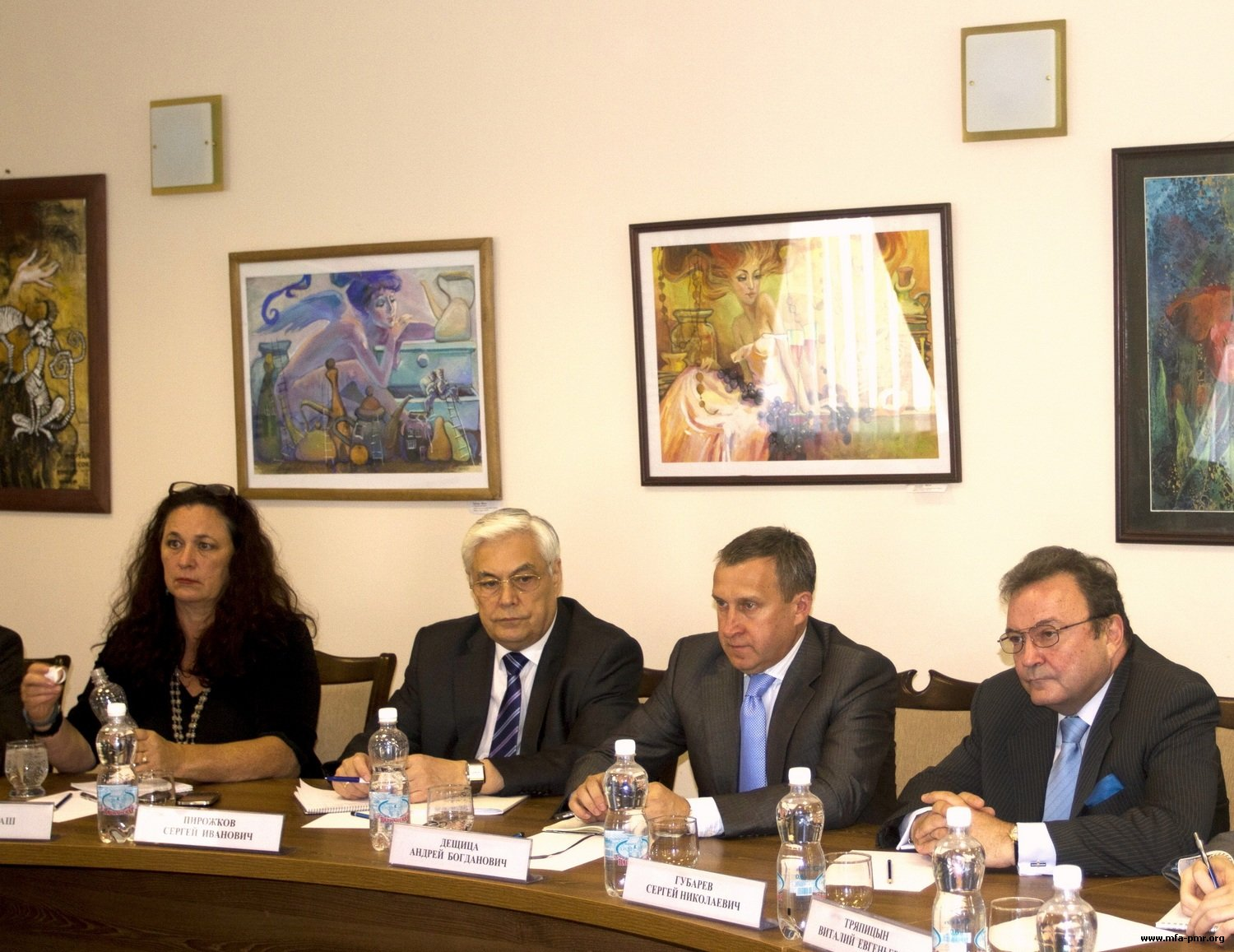 Nina Shtanski met with Delegations of current OSCE Chairmanship and co-mediators in the Moldo-Pridnestrovian Settlement
