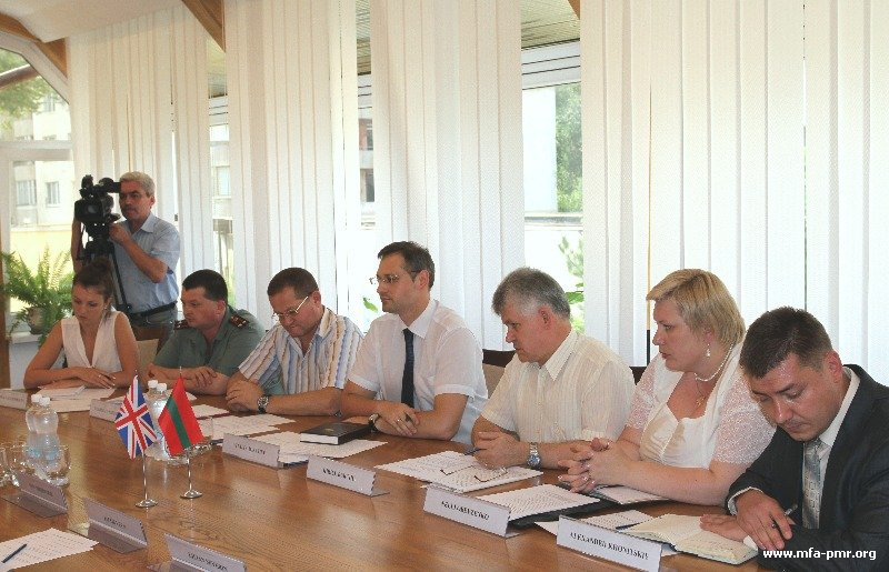 Anti-Tuberculosis Activities were discussed at the Pridnestrovian Foreign Ministry