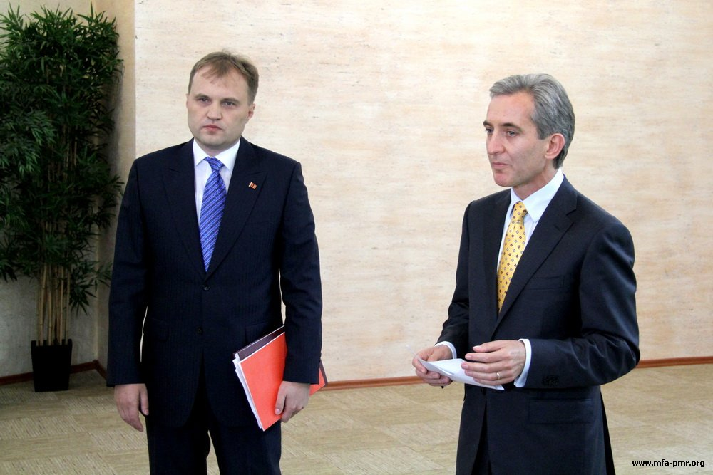 Evgeny Shevchuk and Yuriy Lyanke Meet in Tiraspol