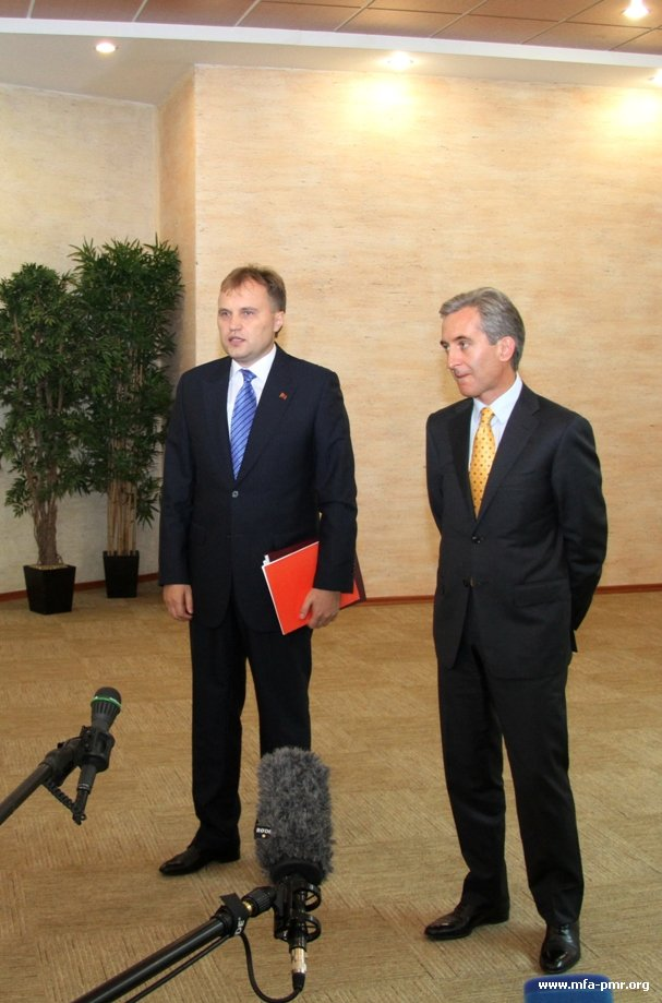 On the Results of the Meeting Between Evgeny Shevchuk and Yurie Lyanke