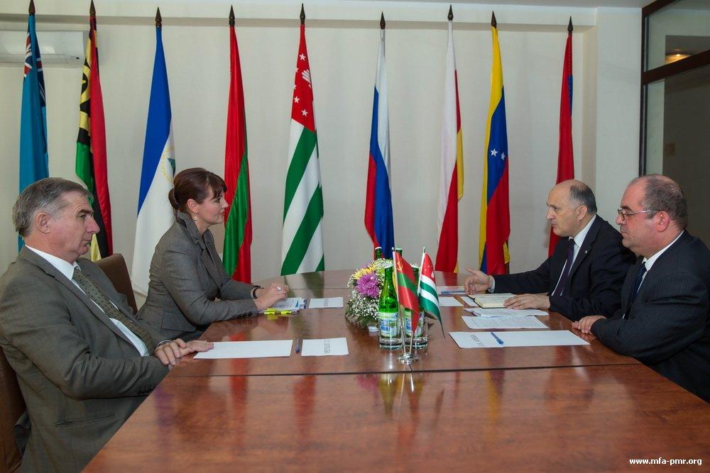 Meeting of Nina Shtanski and Vyacheslav Chirikba