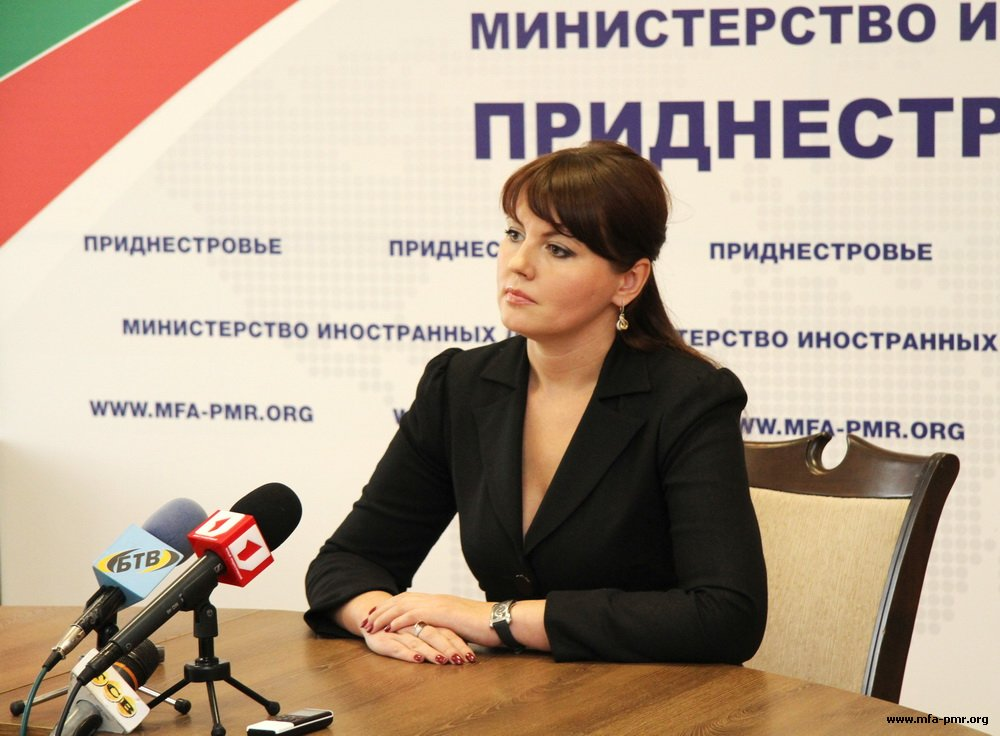 Nina Shtanski Gives a Comment on the Situation Connected with the Establishment of Migration Control Points on the Border with Pridnestrovie by the Republic of Moldova