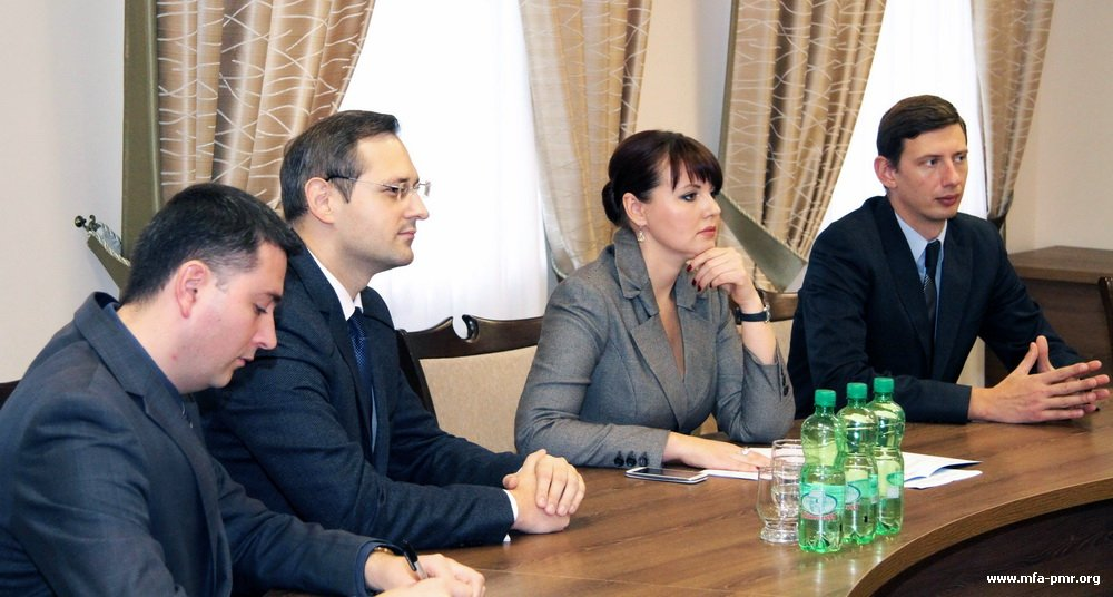 Nina Shtanski Discussed Guidelines of Activities with the Incoming Representative of the PMR in South Ossetia