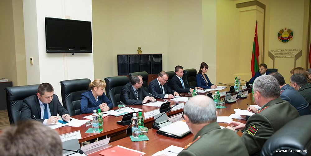 Evgeny Shevchuk: Our Aim is Development of Plan to Minimize Consequences of Possible Negative Impact on Pridnestrovie...