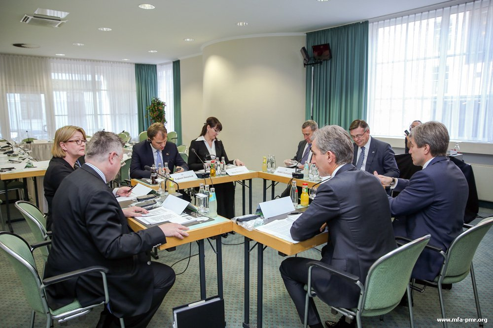 The Meeting of the President of Pridnestrovie and the Prime Minister of Moldova with the Facilitators of the Conference on Confidence Building Measures took place in Germany