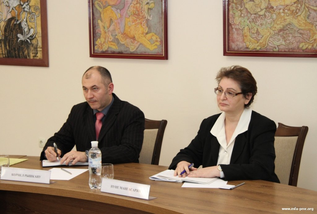 Cooperation Projects with UNICEF Were Discussed at the Pridnestrovian MFA
