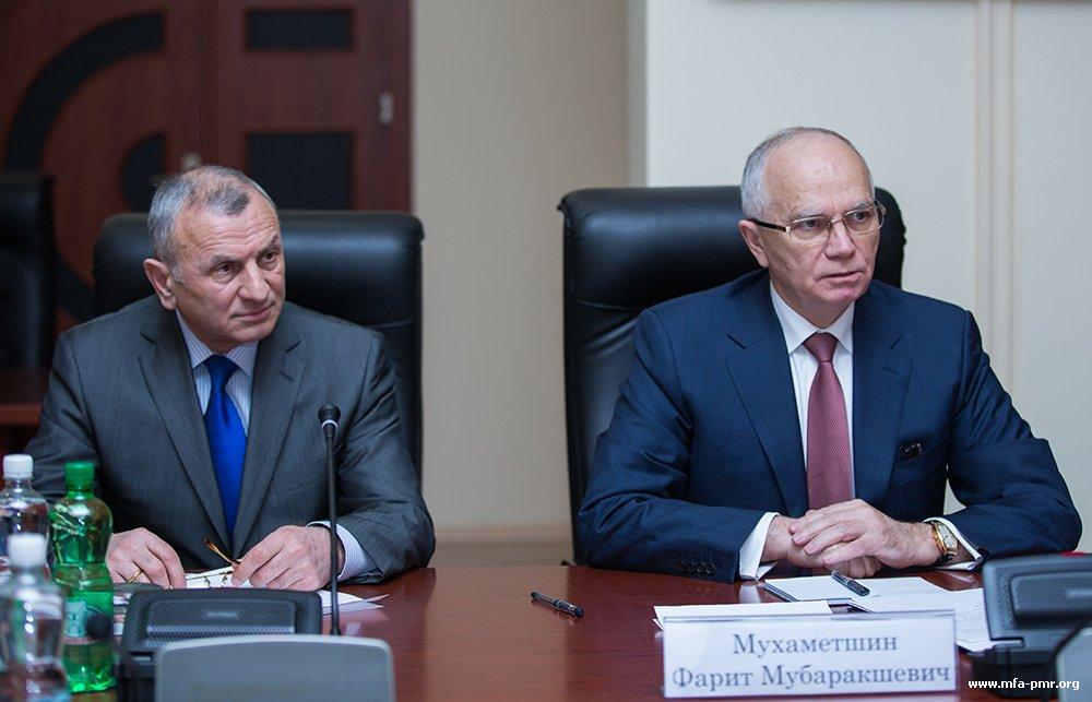 Президенту ПМР представлен новый Cопредседатель ОКК от России