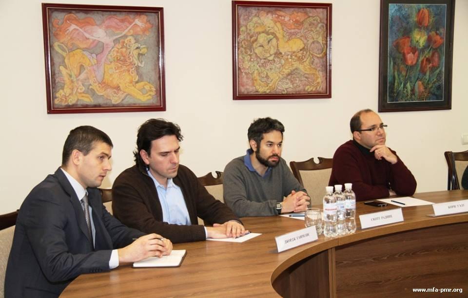Встреча с делегацией международной группы ученых «PONARS Евразия»
