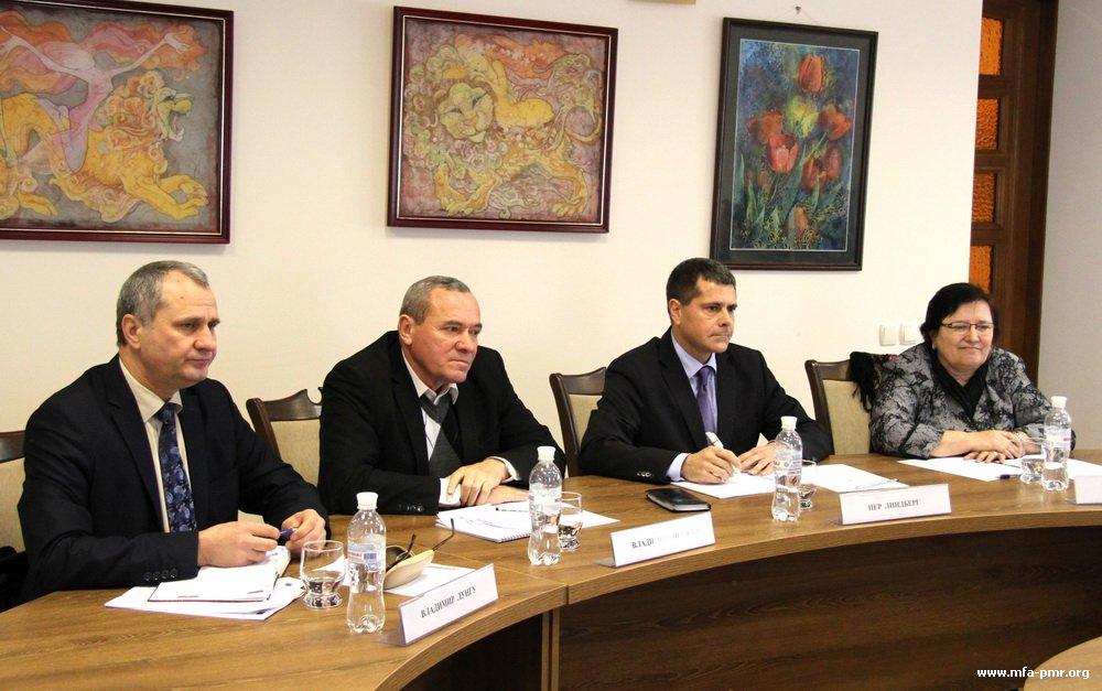 В МИД ПМР прошла встреча с экспертами Европейского союза в области занятости населения и информационных технологий