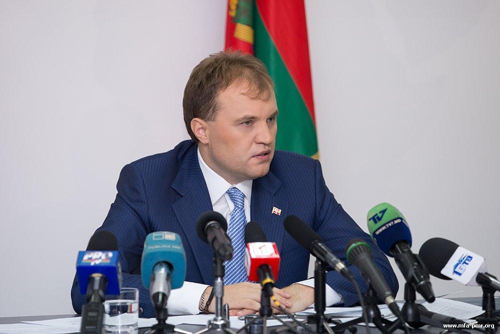 Евгений Шевчук: «Приднестровье и дальше будет укреплять связи с Украиной»