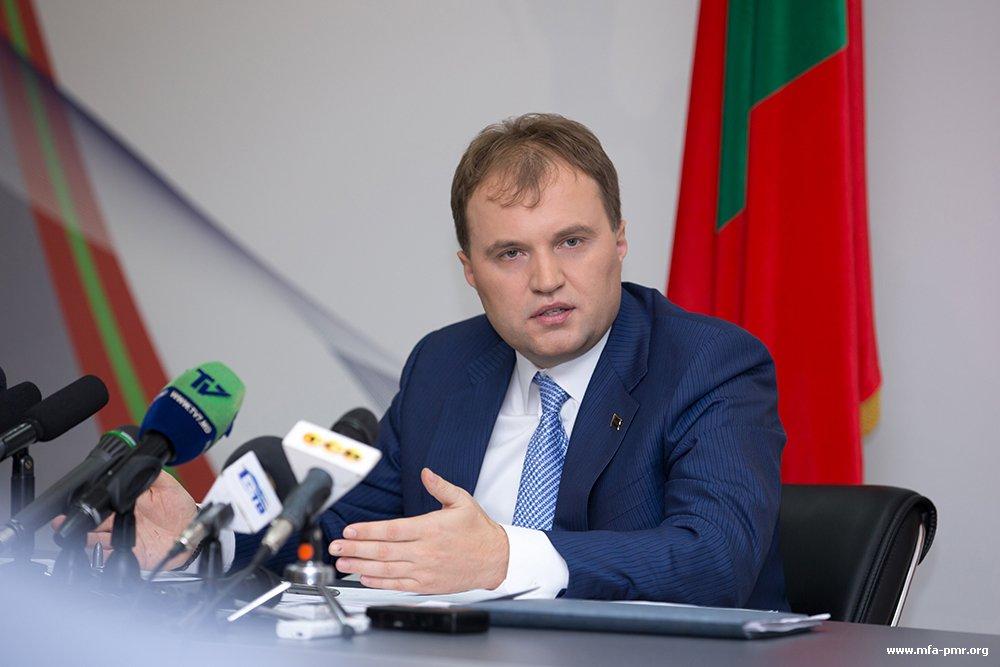 Евгений Шевчук: «Приднестровье и Российская Федерация вышли на качественно новый этап сотрудничества»