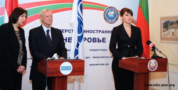 О брифинге по итогам встречи Нины Штански и Радойко Богоевича