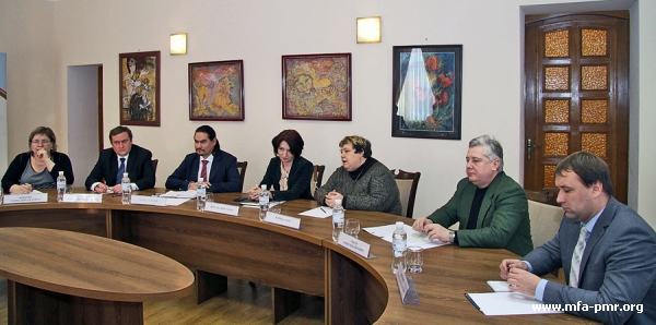 On the meeting with experts of Crisis Management Initiative