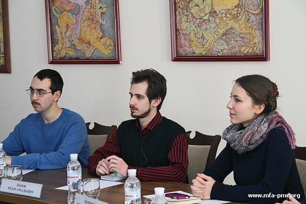 МИД ПМР посетила делегация представителей МГУ им. М.В. Ломоносова