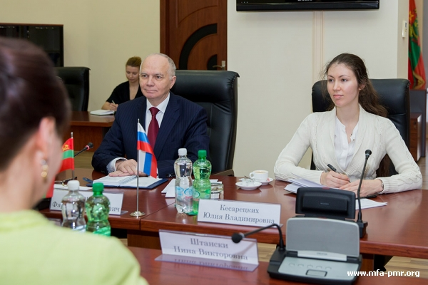 The President of Pridnestrovie Hosted Ambassador Extraordinary and Plenipotentiary of Russia to the Republic of Moldova