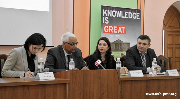 """An Open Lecture """"Apartheid Enigma"""" Took Place in Tiraspol"""