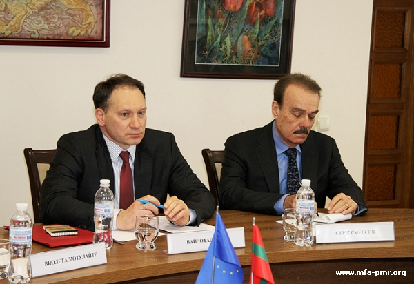 PMR'S MFA Hosted a Delegation of the European Diplomats