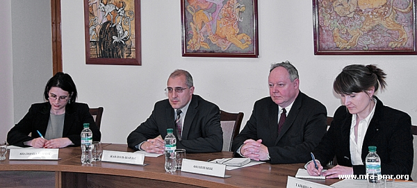 Nina Shtanski met with Ambassador Extraordinary and Plenipotentiary of the Kingdom of Belgium to the Republic of Moldova Philippe Beke