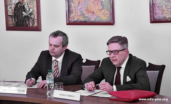 Nina Shtanski Meets with Head of the Delegation of the European Union to Moldova Pirkka Tapiola