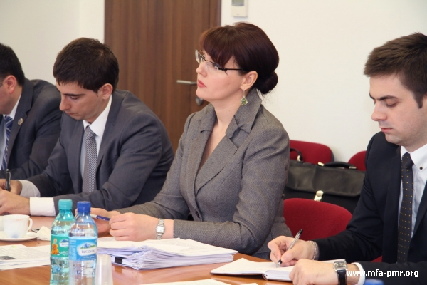 At today's meeting between Political Representatives of Pridnestrovie and Moldova Nina Shtanski and Yevgeny Karpov discussed the issue on cancelation of discriminatory excise duties for the goods imported by the economic agents of Pridnestrovie