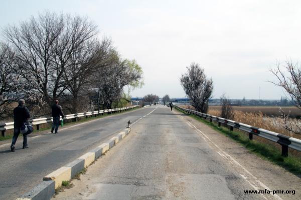 """Nina Shtanski and Farit Mukhametshin visited border checkpoint """"Pervomaisk"""""""